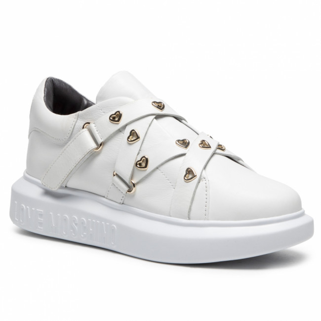 Sneakersy LOVE MOSCHINO - JA15484G0BJA0100 Bianco