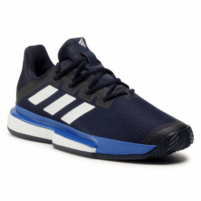 Topánky adidas - SoleMatch Bounce M Clay EG2219 Legend Ink/Cloud White/Royal Blue