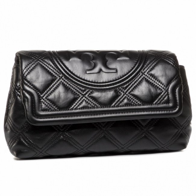 Kabelka TORY BURCH - Fleming Soft Clutch 59690 Black 001