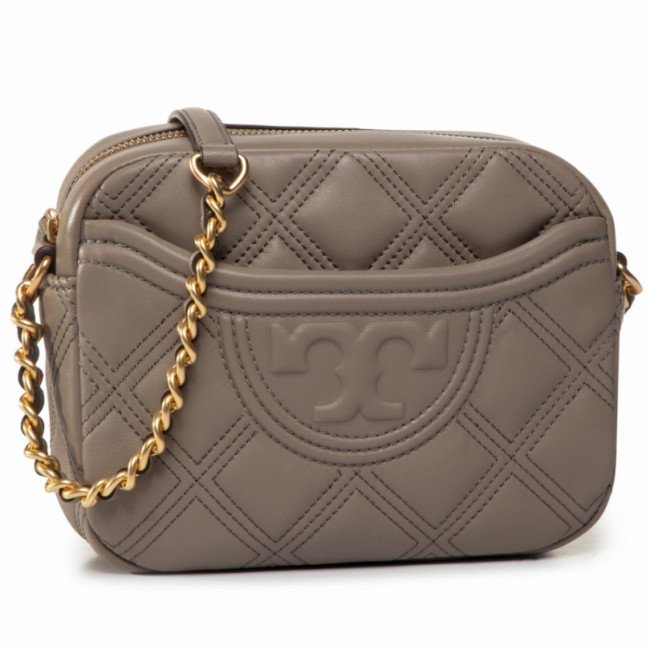 Kabelka TORY BURCH - Fleming Soft Camera Bag 62091 Gray Heron 082