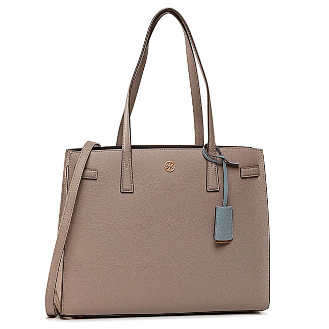 Kabelka TORY BURCH - Walker Satchel 73623 Gray Heron 082