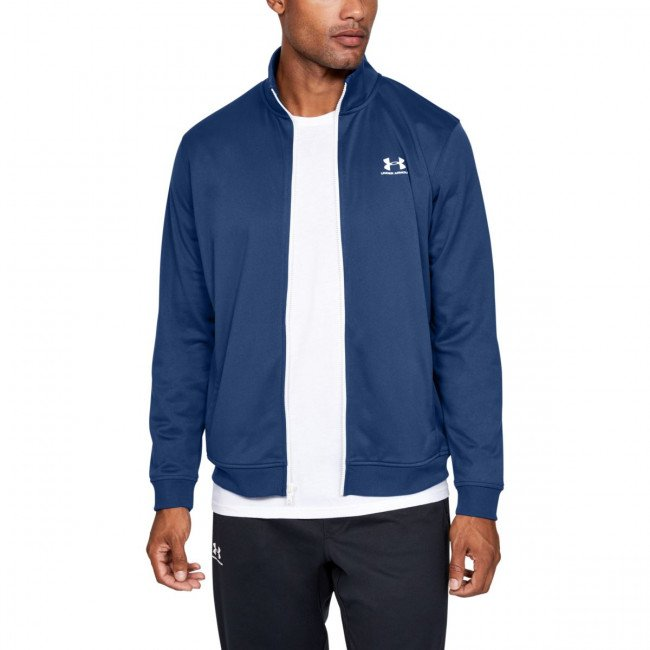 Bunda Under Armour SPORTSTYLE TRICOT JACKET-BLU