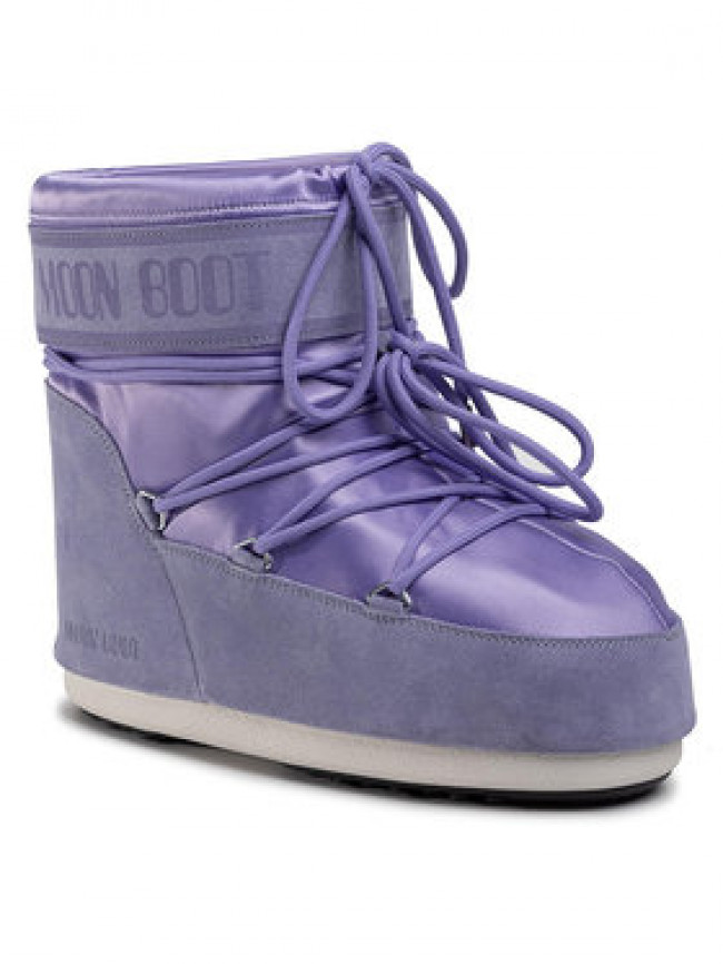 Moon Boot Snehule Classic Low Satin 14089300003 Fialová