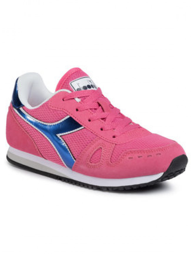 Diadora Sneakersy Simple Run Gs Girl 101.175776 01 50152 Ružová