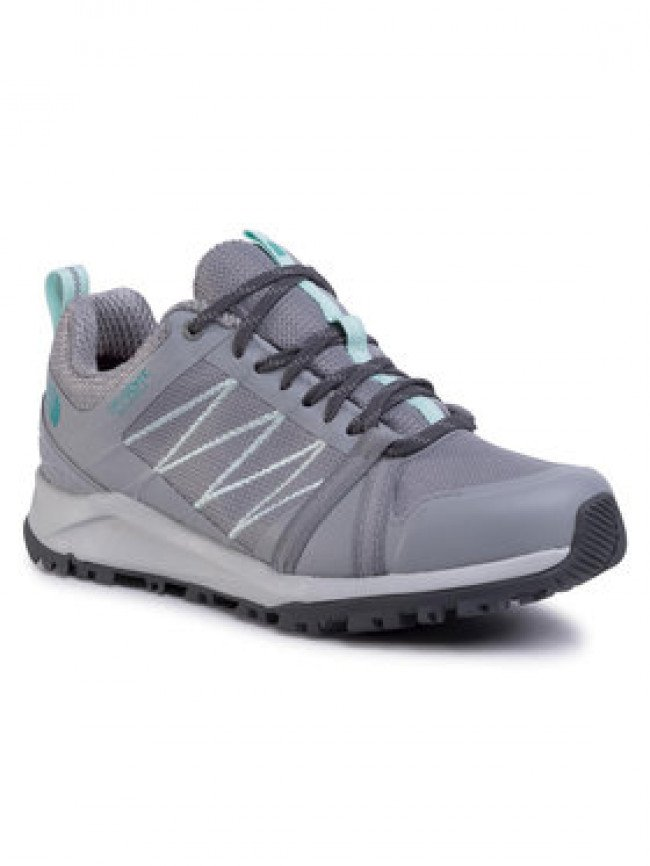 The North Face Trekingová obuv Litewave Fastpack II Wp NF0A4PF4C8BI Sivá