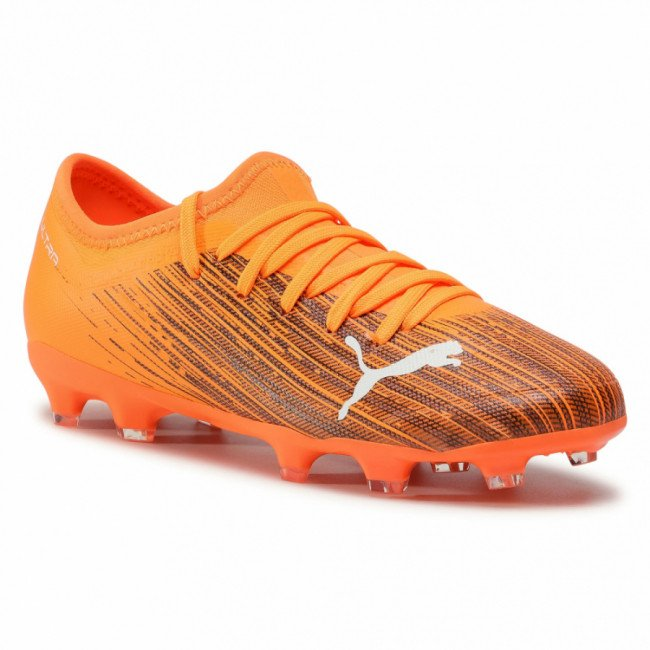 Topánky PUMA - Ultra 3.1 Fg/Ag Jr 106098 01 Shocking Orange/Puma Black