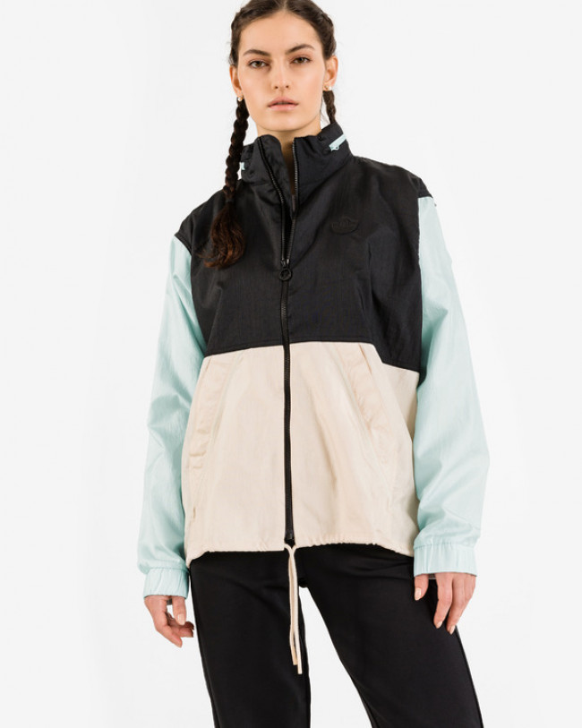 adidas Originals Blocked Windbreaker Bunda Čierna Modrá