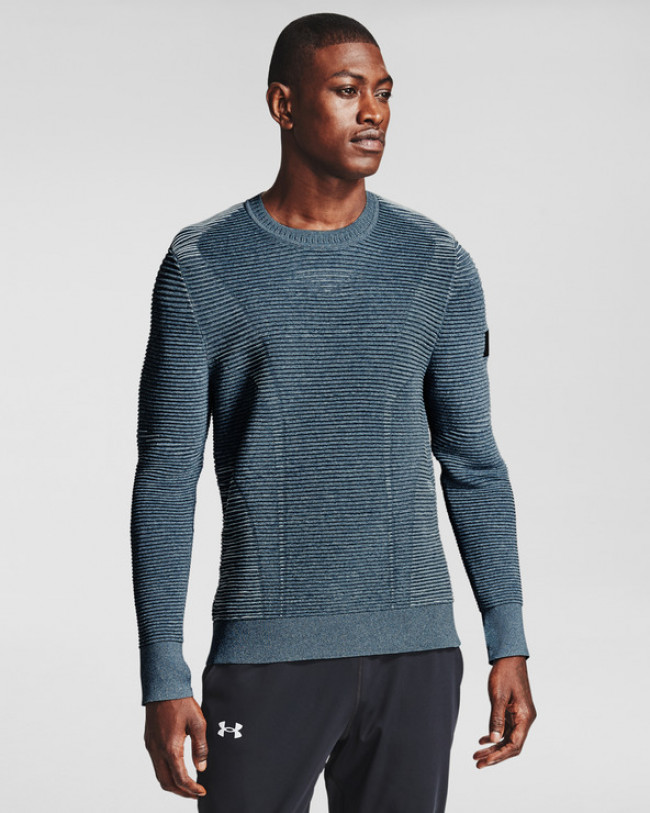 Under Armour IntelliKnit Phantom 2.0 Sveter Modrá