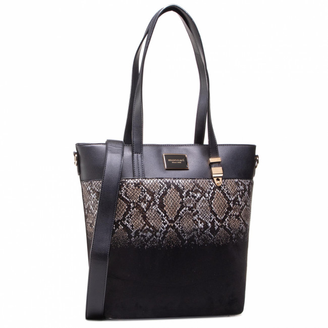 Kabelka MONNARI - BAG5230-M20 Black With Pattern