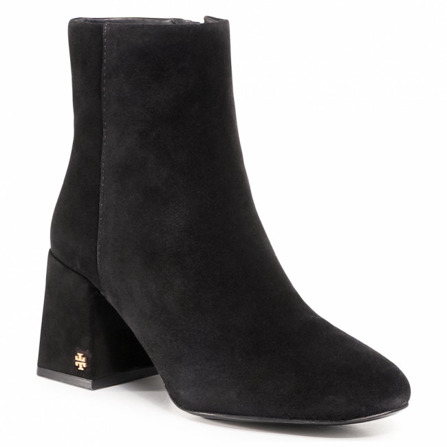 Členkové čižmy TORY BURCH - Kira 75Mm Bootie 77278 Perfect Black 006