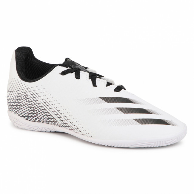Topánky adidas - X Ghosted.4 In J FW6802  Ftwwht/Cblack/Silvm