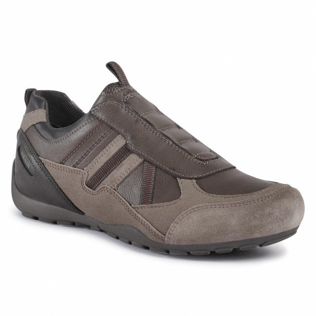 Sneakersy GEOX - U Ravex B U043FB 000ME C1556 Dove Grey/Mud