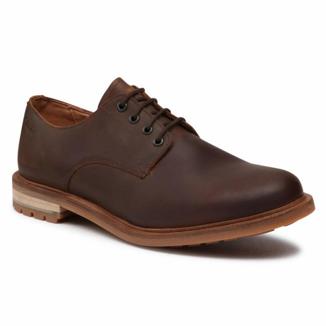 Poltopánky CLARKS - Foxwell Hall 261521397  Beeswax Leather