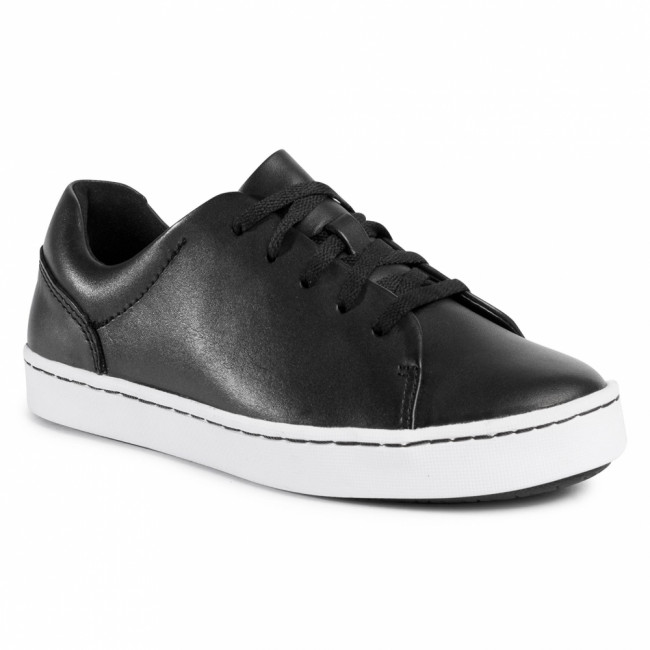 Sneakersy CLARKS - Pawley Springs 261468664  Black Leather