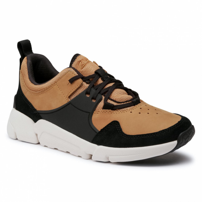 Sneakersy CLARKS - TriActive Lace 261524927 Tan Combi