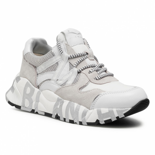 Sneakersy VOILE BLANCHE - Club100 0012015541.02.0N01 Bianco