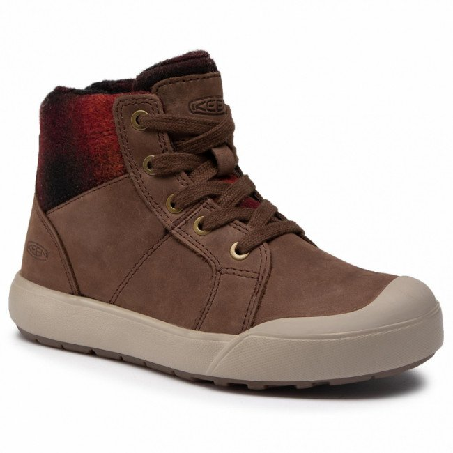 Sneakersy KEEN - Elena Mid 1023459 Chestnut/Plaza Taupe