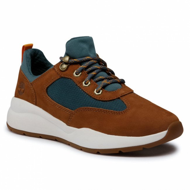 Sneakersy TIMBERLAND - Boroughs Low Sneaker Hkr TB0A2CMCF13  Rust Nubuck