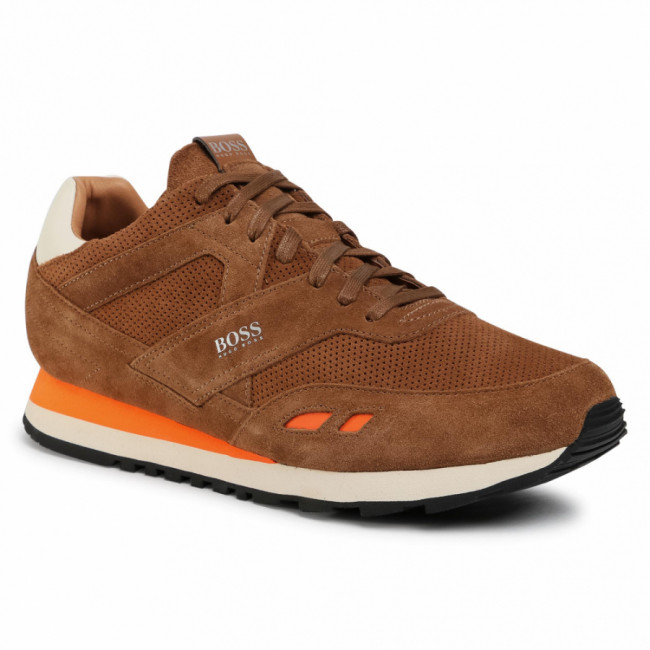 Sneakersy BOSS - Parkour 50439539 10214574 01 Medium Brown 210
