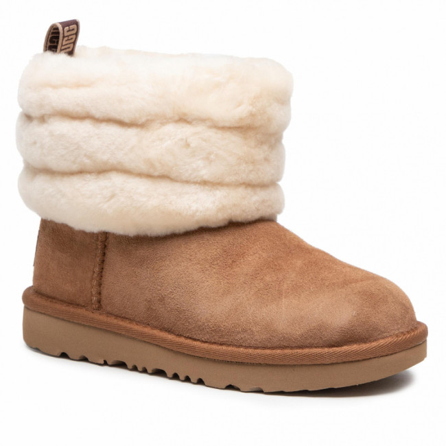 Topánky UGG - T Fluff Mini Quilted 1103612K Che