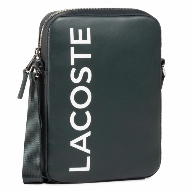 Brašna LACOSTE - M Vertical Camera Bag NH2933IA Sinople