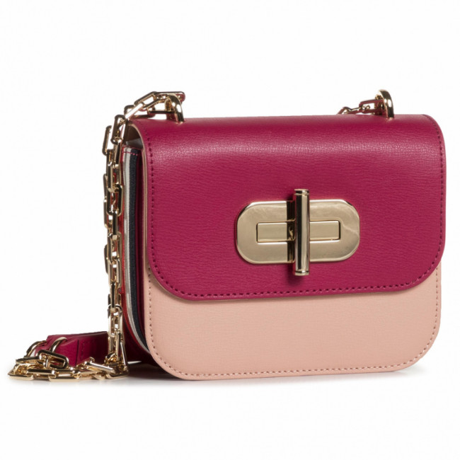 Kabelka TOMMY HILFIGER - Turnlock Mini Crossover AW0AW08737 TM0