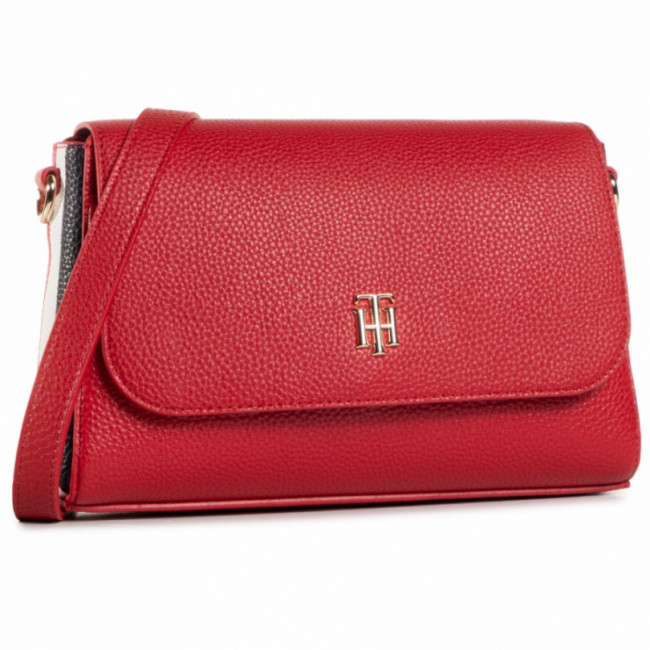 Kabelka TOMMY HILFIGER - Th Essence Flap Crossover Cropp AW0AW09036 XMP