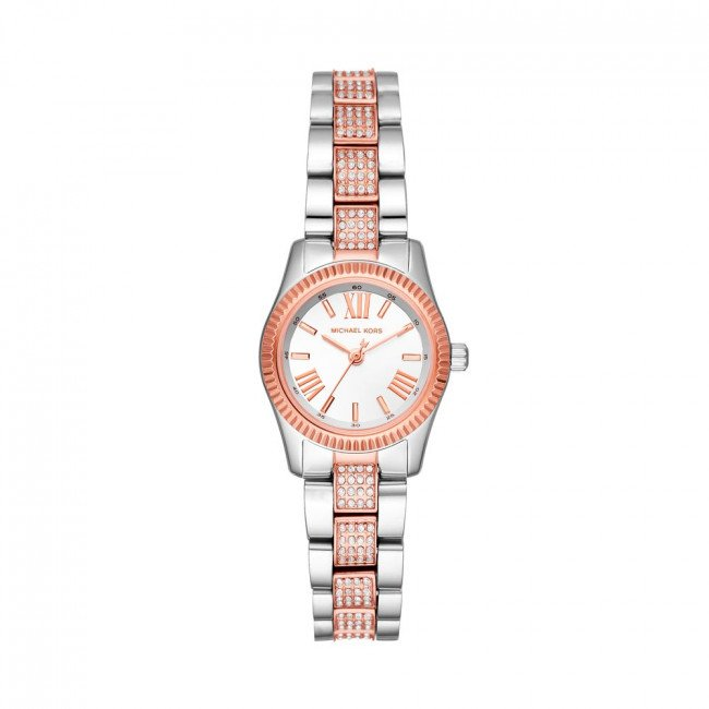 Hodinky MICHAEL KORS - Petite Lexington MK3876 Silver/Rose Gold