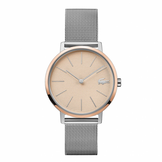 Hodinky LACOSTE - Moon 2001072  Silver/Rose Gold
