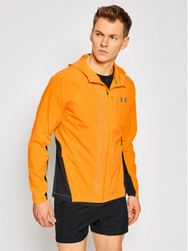 Under Armour Bežecké nohavice Ua Qualifier Outrun The Storm 1350173 Žltá Regular Fit
