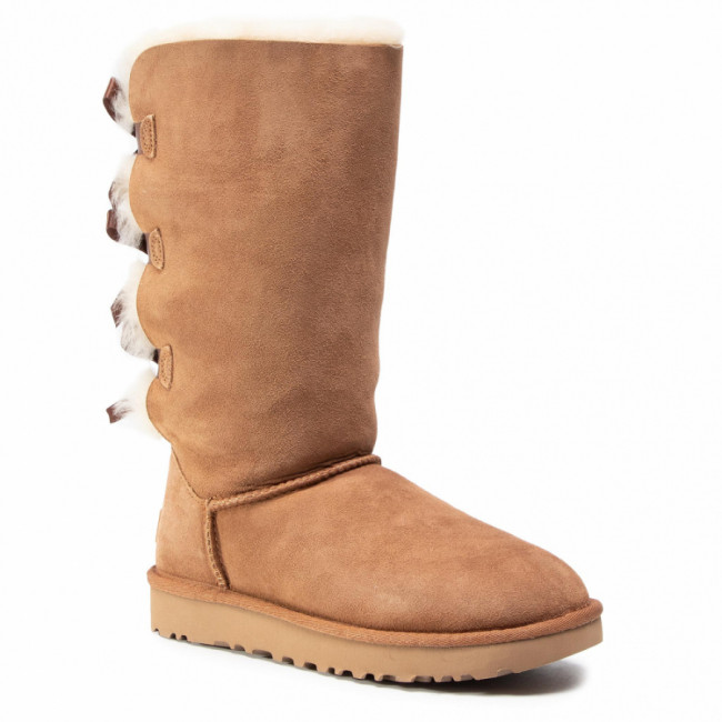 Topánky UGG -  W Bailey Bow Tall II 1016434 Che