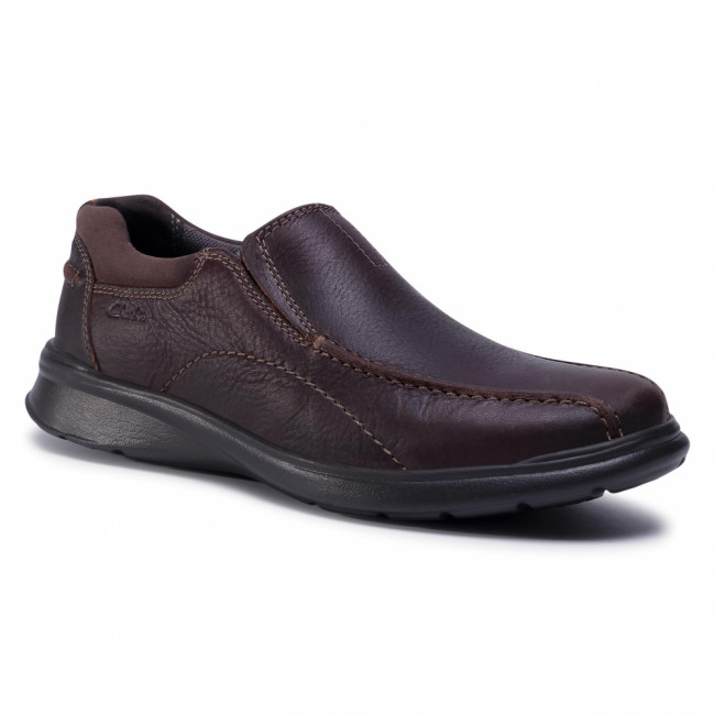 Poltopánky CLARKS - Cotrell Step 261196147  Brown Oily