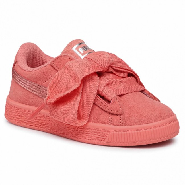 Sneakersy PUMA - Suede Heart Snk Ps 364919 05 Shell Pink/Shell Pink