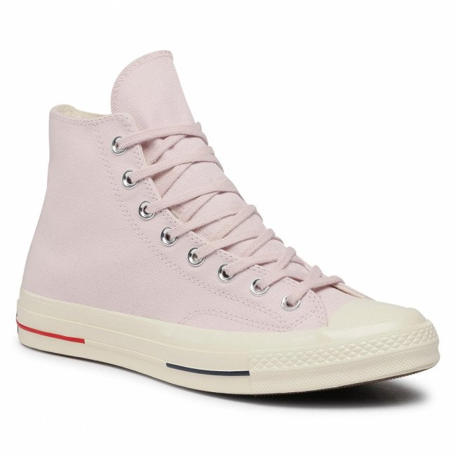 Tramky CONVERSE - Ctas 70 Hi 160492C  Barely Rose/Gym Red/Navy 1