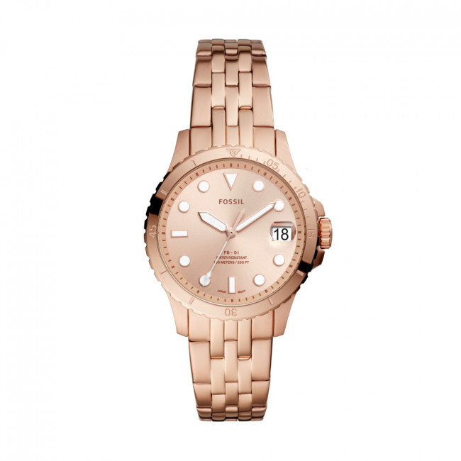Hodinky FOSSIL - FB-01 ES4748  Rose Gold