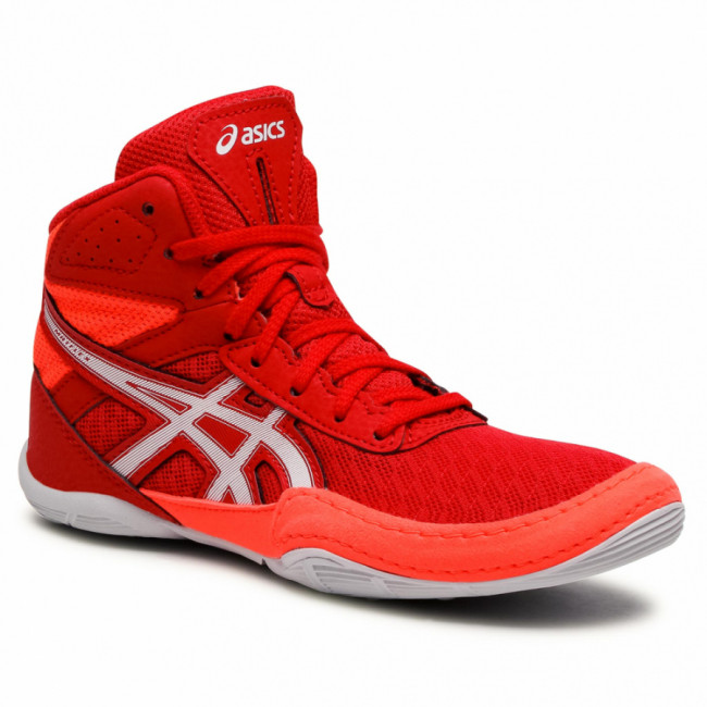 Topánky ASICS - Matflex 6 Gs 1084A007  Red/Flash Coral