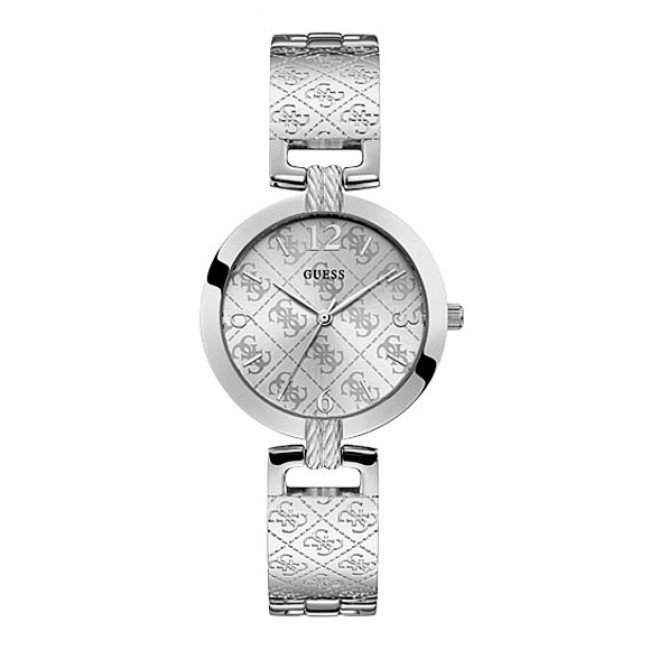 Hodinky GUESS - G Luxe W1228L1 SILVER/SILVER