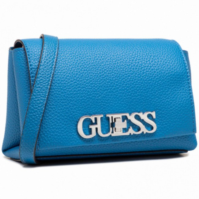 Kabelka GUESS - Uptown Chic (VY) Mini HWVY73 01780 BLUE
