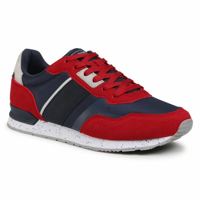 Sneakersy LANETTI - MP07-7061-11 Red