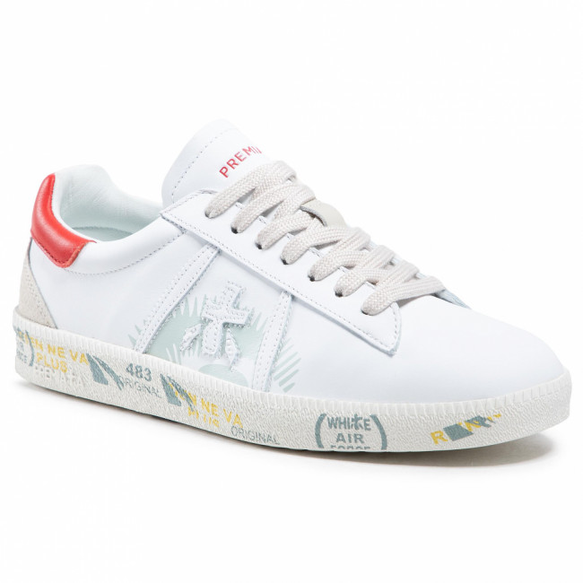 Sneakersy PREMIATA - Andyd 5144 White/Red