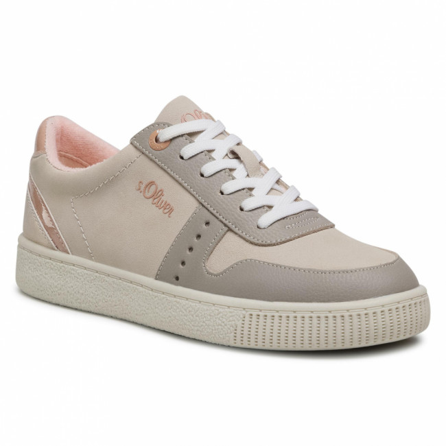 Sneakersy S.OLIVER - 5-23611-36 Beige Comb 410