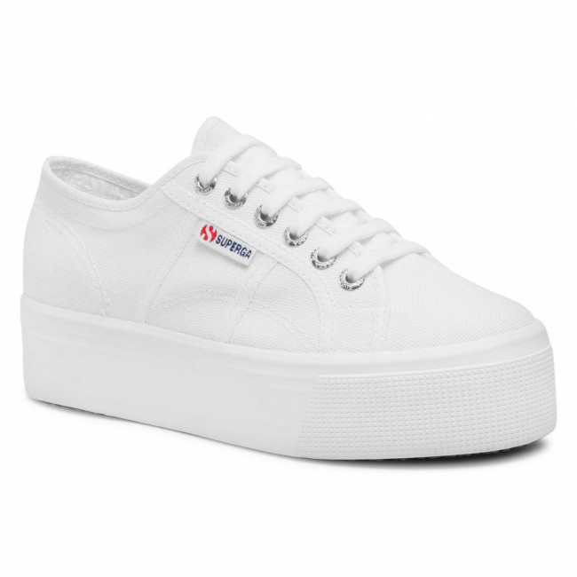 Tenisky SUPERGA - 2790 Cotw Linea Up And Down S9111LW White 901