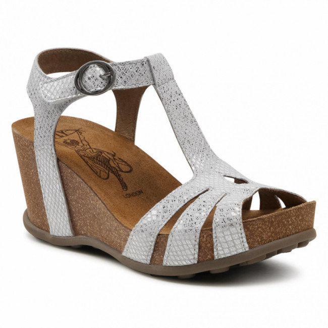 Sandále FLY LONDON - Gumyfly P144777004 Offwhite Silver