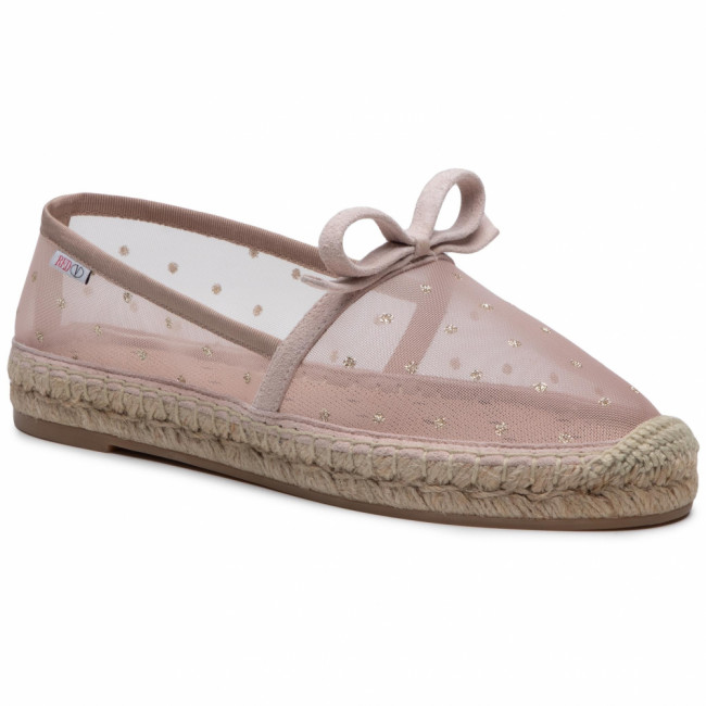 Espadrilky RED VALENTINO - VQ2S0D64HUH  Nude/ Oro N17