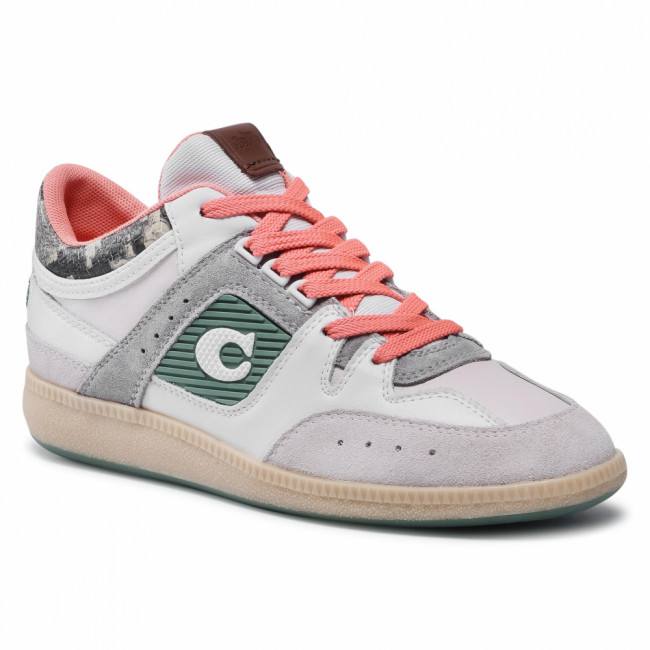 Sneakersy COACH - Citysole Mid Top C2342 WT/NA White/Natural