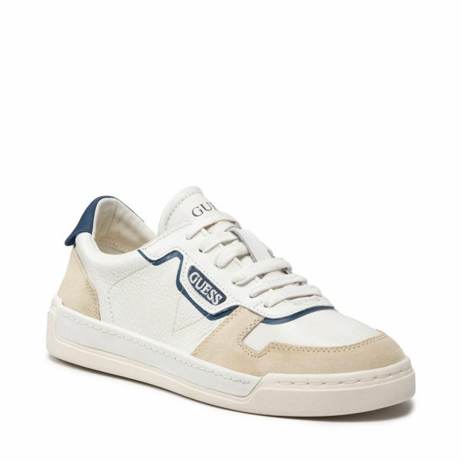 Sneakersy GUESS - Strave Vintage FM7STV LEA12 WHBLU