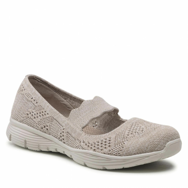 Poltopánky SKECHERS - Pitch Out 158081/TPE Taupe