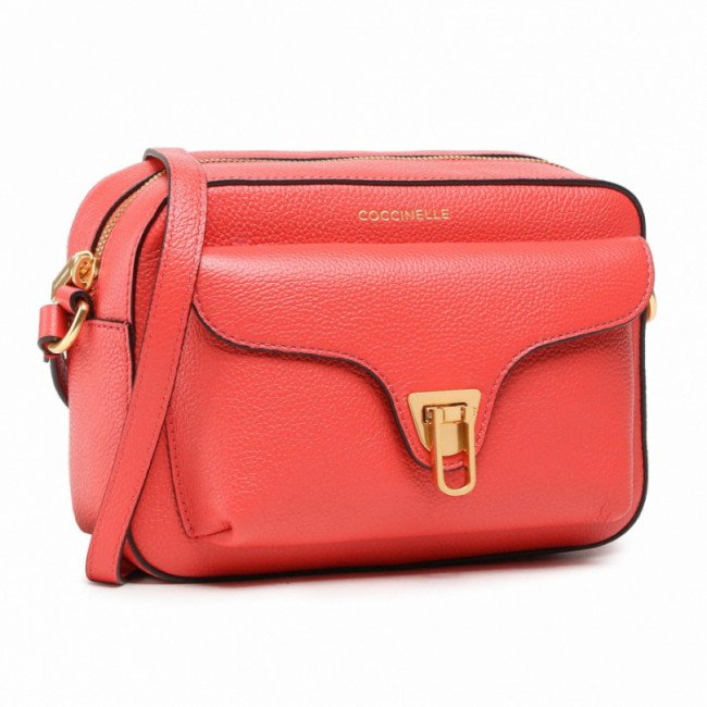 Kabelka COCCINELLE - HF6 Beat Soft E1 HF6 15 02 01 Coral Red R34