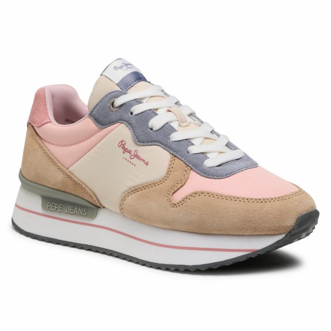 Sneakersy PEPE JEANS - Rusper Young21 PLS30991  Pale Pink 300