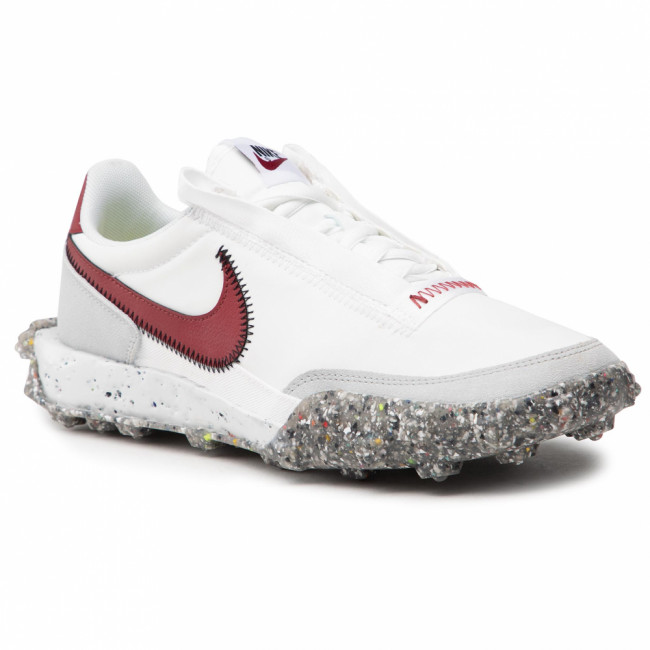 Topánky NIKE - Waffle Racer Crater CT1983 103 Summit White/Team Red